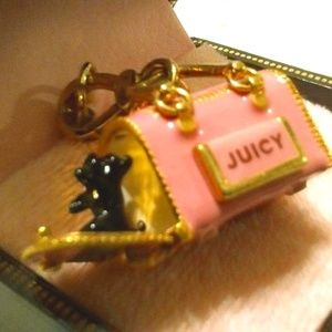 JUICY COUTURE 2007 DOG CARRIER YORKIE CHARM